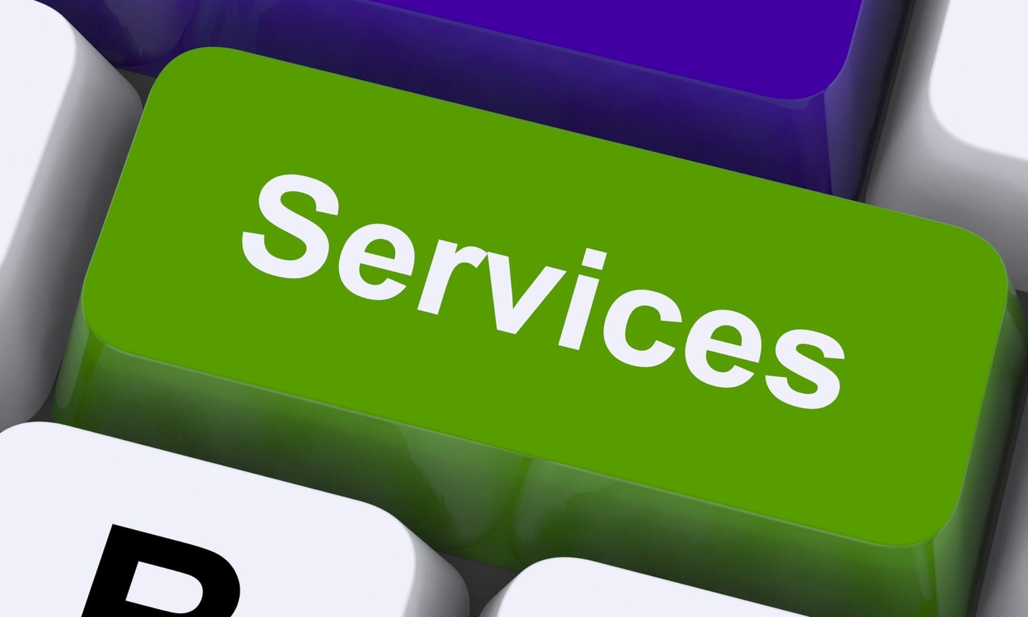 Services establishing new values